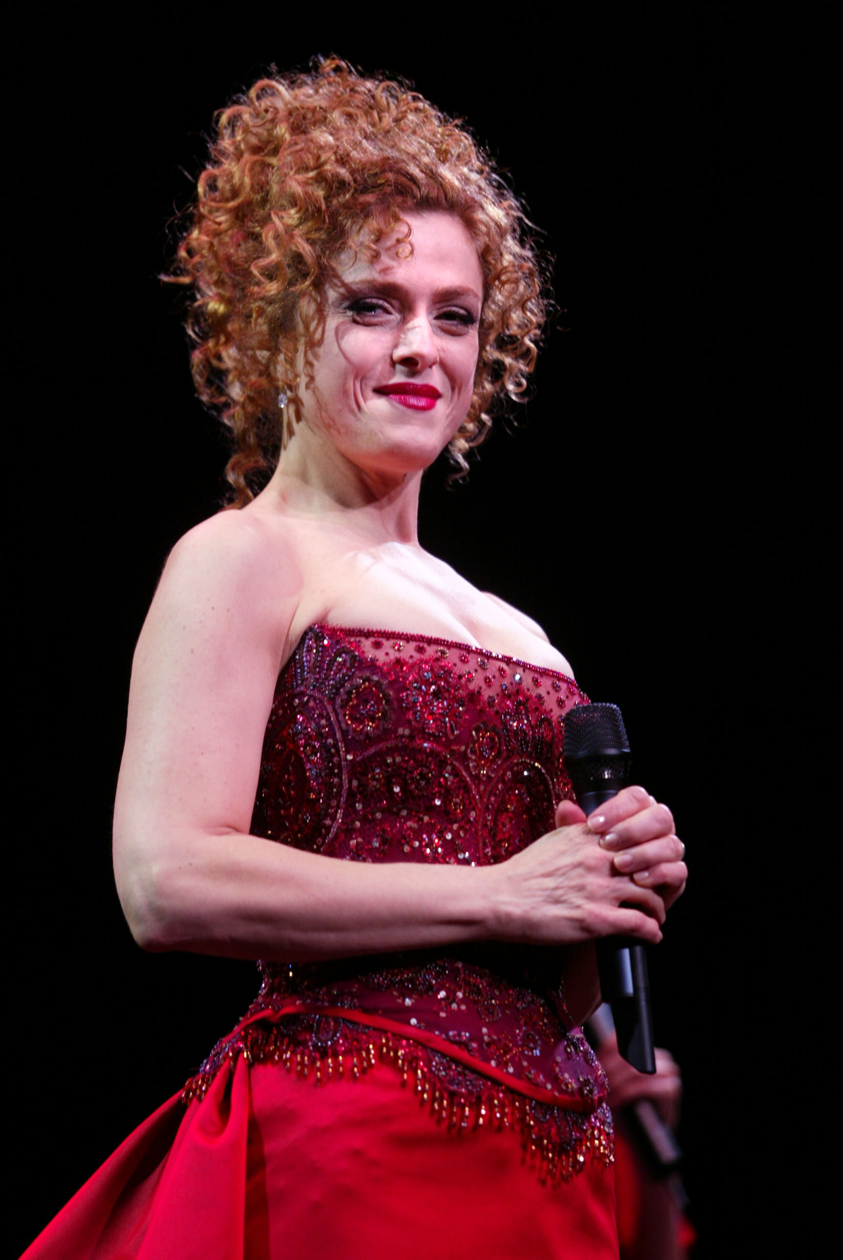 Bernadette Peters At Radio City Music Hall The Interval