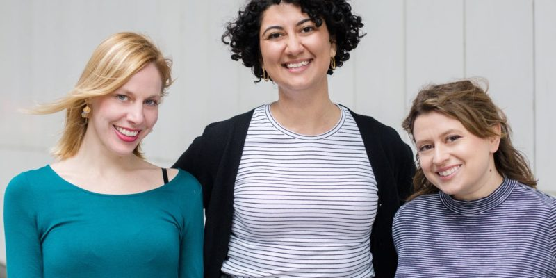 The Women of EST's Spring Season: Chiara Atik, Sylvia Khoury, and Abby Rosebrock